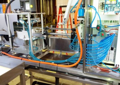 Brewery canning line